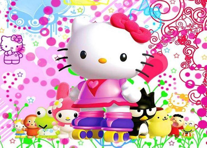paidiko party me thema hello kitty