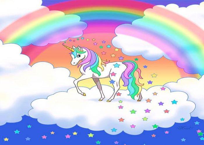 paidiko party me thema monokeros unicorn