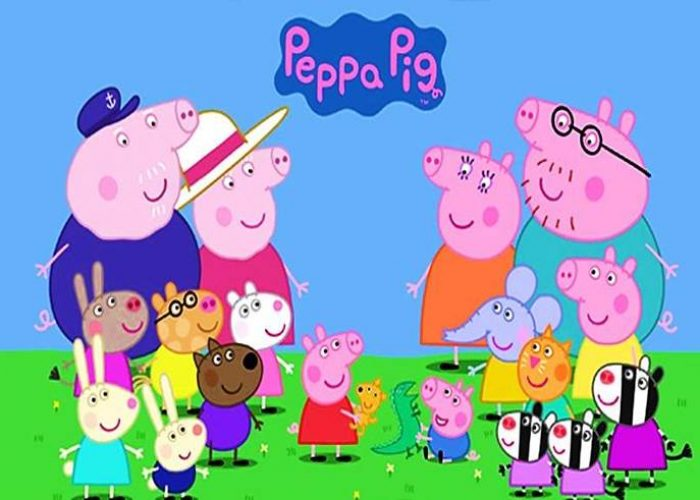 paidiko party me thema peppa