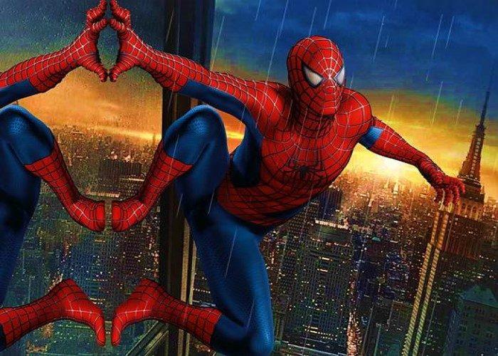 paidiko party me thema spiderman
